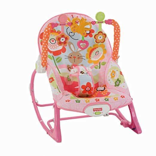 Cadeira Balanço Minha Infância Fisher Price Y4544 Meninas