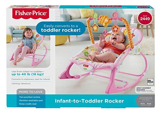 Cadeira Balanço Minha Infância Fisher Price Y4544 Meninas 4