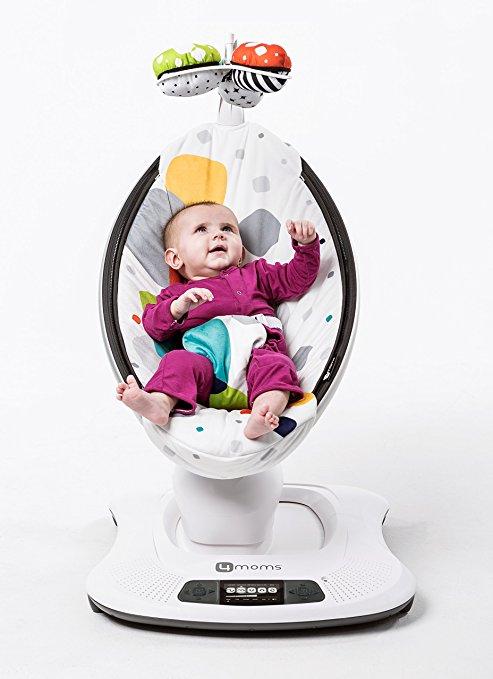 Cadeira De Balanço Mamaroo 4moms 2°geração Bluetooth Design5