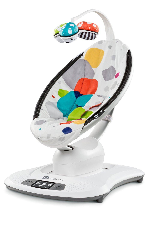 Cadeira De Balanço Mamaroo 4moms 2°geração Bluetooth Multi Plush