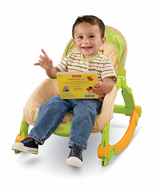 Cadeirinha de Balanço Fisher-Price Newborn-to-Toddler 3