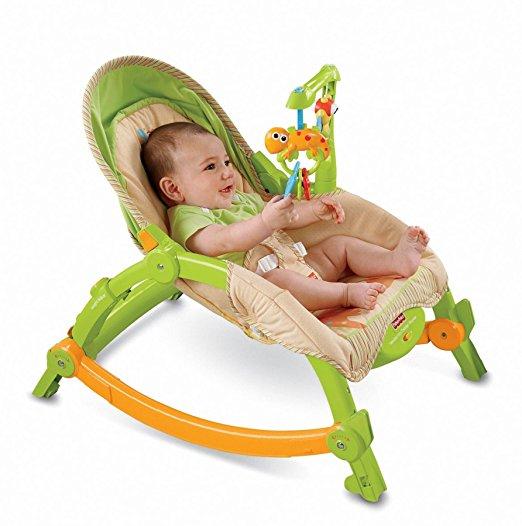 Cadeirinha de Balanço Fisher-Price Newborn-to-Toddler