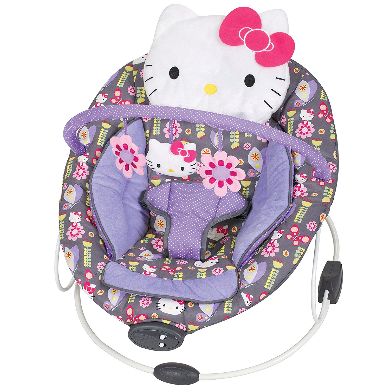 Cadeirinha de Balanço Hello Kitty bouncer Chair Kitty Flower Dance
