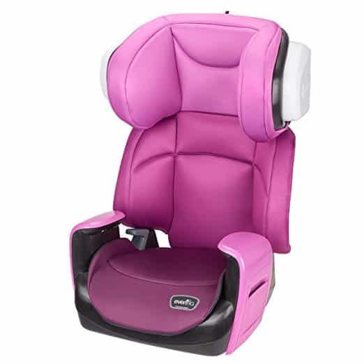 Cadeirinha de Carro Evenflo Spectrum 2-in-1 Poppy Pink