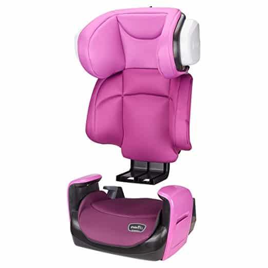 Cadeirinha de Carro Evenflo Spectrum 2-in-1 Poppy Pink 4