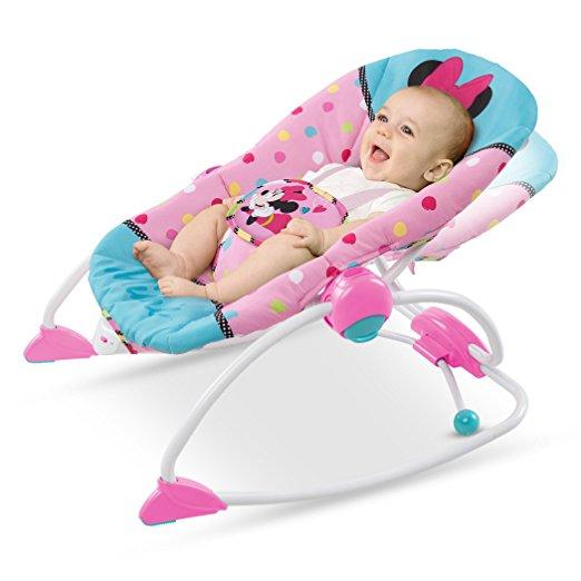 Cadeirinha de balanço Disney Baby To Big Kid Rocking Seat Minnie Peek A Boo 4