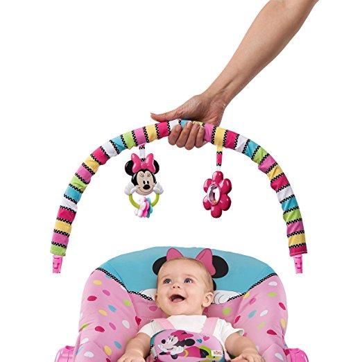 Cadeirinha de balanço Disney Baby To Big Kid Rocking Seat Minnie Peek A Boo 5