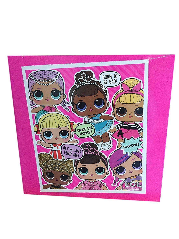 Caixa De Bonecas Lol Surprise Doll Serie 1 Com 18 Unidades