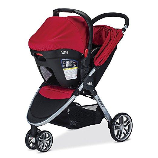 Carrinho Bebê e Conforto Britax 2017 B-agile 3/b-safe35 Cor Vermelha