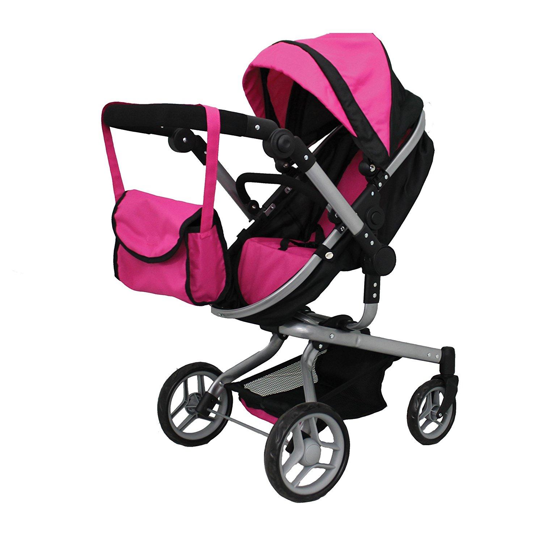 Carrinho De Bonecas Igual Ao Da Mamãe Mommy & me 2 in 1 Deluxe doll stroller4