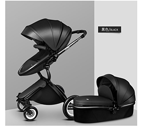 Carrinho de bebê 3 em 1 Baby Stroller 2017, 3 in 1 Function Travel System Baby Carriage and Bassinet Combo 3