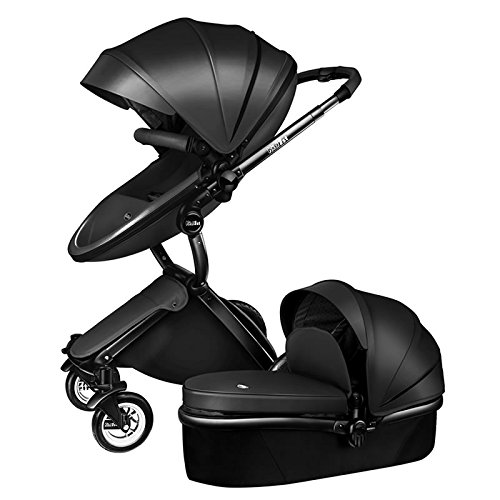 Carrinho de bebê 3 em 1 Baby Stroller 2017, 3 in 1 Function Travel System Baby Carriage and Bassinet Combo