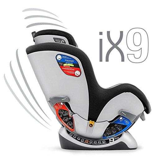 Chicco NextFit iX Zip Convertible Car Seat, Spectrum 2