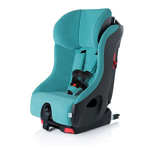 Clek Foonf Rigid Latch Convertible Baby and Toddler Car Seat, Rear and Forward Facing with Anti Rebound Bar,Capri