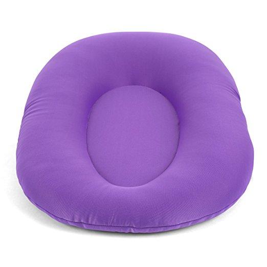Cuddles Soft Baby Bath Pillow & Lounger (Purple) 2
