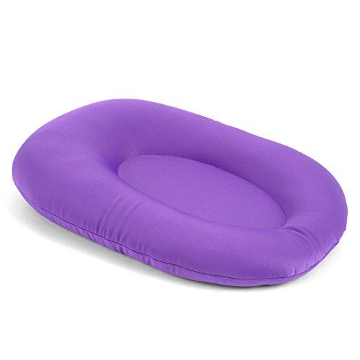 Cuddles Soft Baby Bath Pillow & Lounger (Purple)