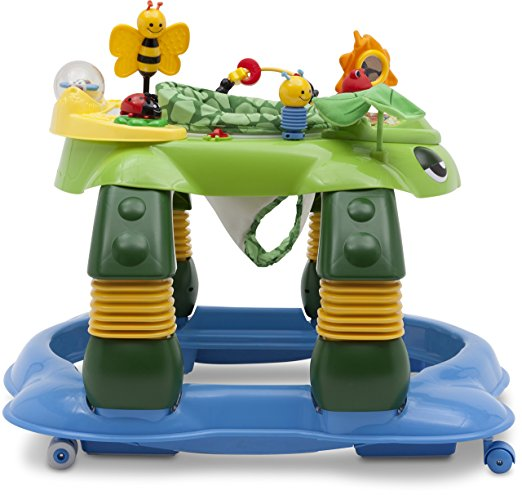 Delta Children Mason the Turtle Lil' Play Station 3-in-1 Activity Walker 4