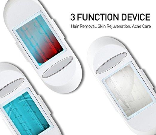 Depilação Viss Ipl 3-em-1 Pacote rejuvenescimento Da Pele tratamento Acne2