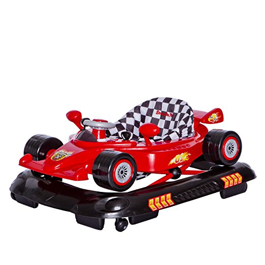 Dream On Me Victory Lane Activity Walker, Red 3
