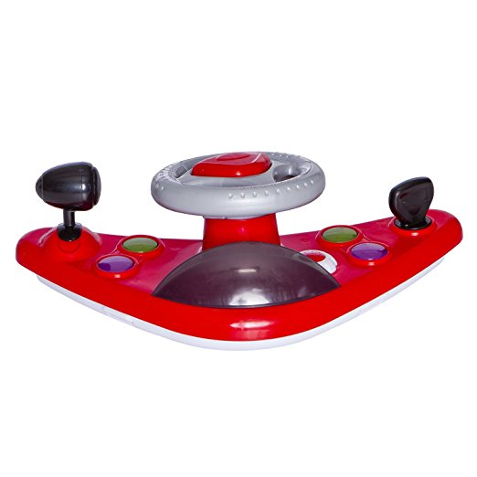 Dream On Me Victory Lane Activity Walker, Red 4