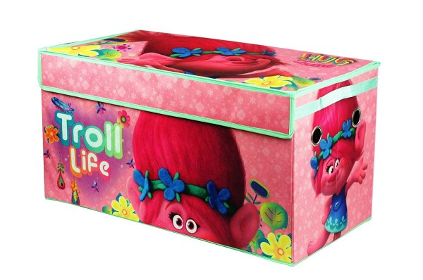 Dreamworks Trolls Collapsible Storage Trunk