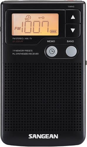 Estéreo/am Áudio Digital Sangean DT-200X FM-Stereo/AM 1
