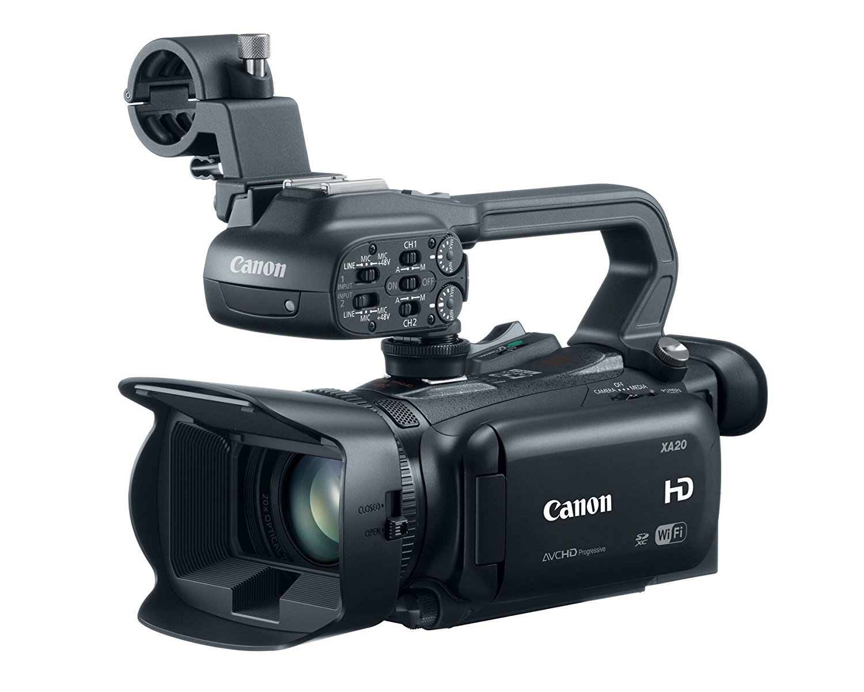 Filmadora Canon Profissional HD XA20 8453B002