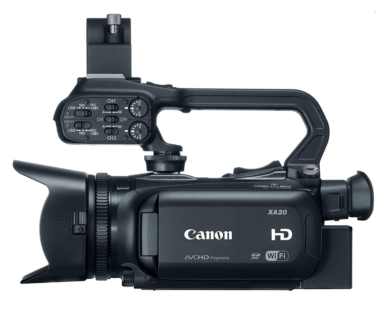Filmadora Canon Profissional HD XA20 8453B0022
