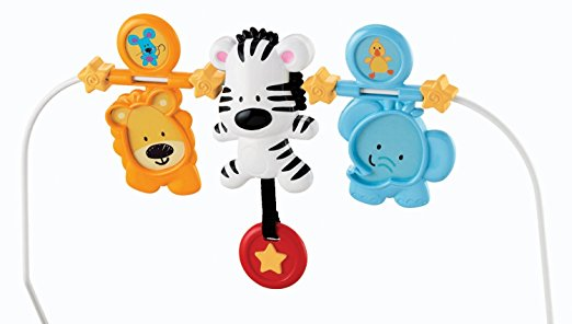 Fisher-Price Baby's Bouncer, Adorable Animals 4