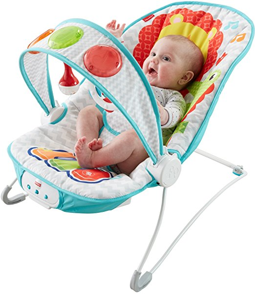 Fisher-Price Kick 'n Play Musical Bouncer 2