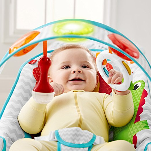 Fisher-Price Kick 'n Play Musical Bouncer 4