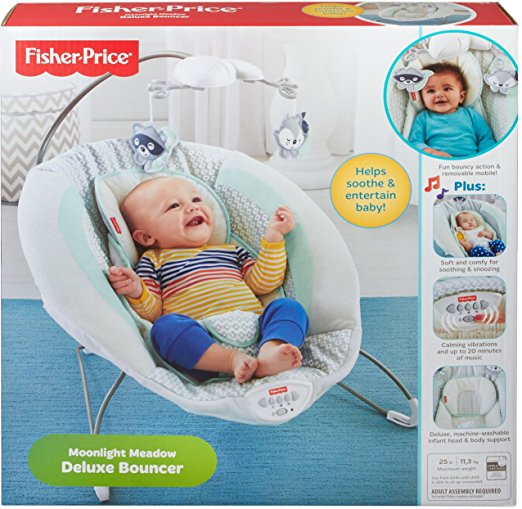 Fisher-Price Moonlight Meadow Deluxe Bouncer 5