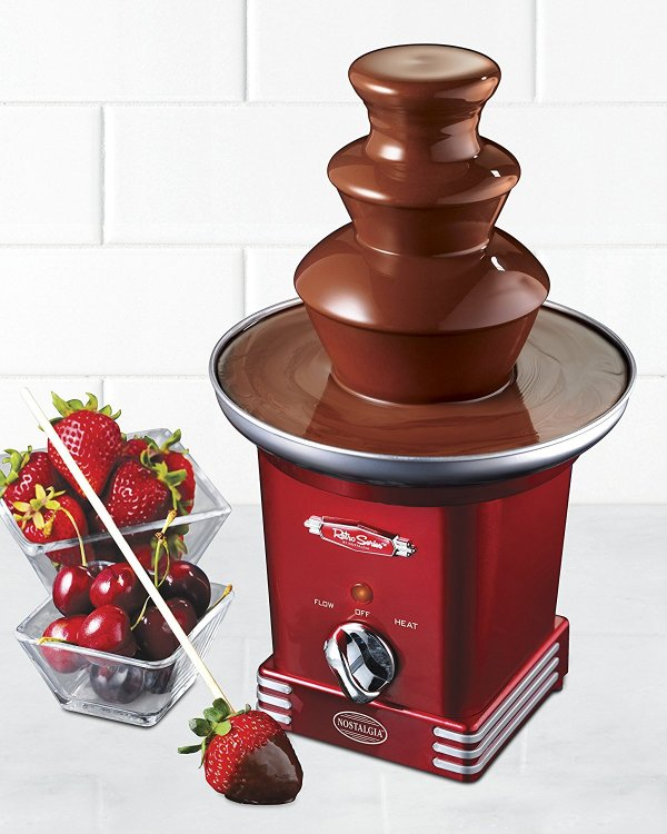 Fonte de Chocolate Retro Series Nostalgia Electrics RFF600RETRORED