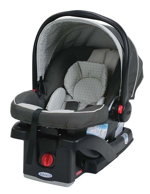 Cadeirinha Bebê conforto Graco SnugRide 30 LX Click Connect Infant Car Seat, Glacier
