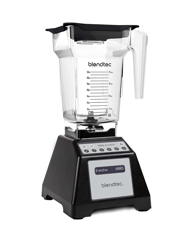 Liquidificador-Blendtec-TB-621-20-Total-Blender-Classic-with-FourSide-Jar-Preto