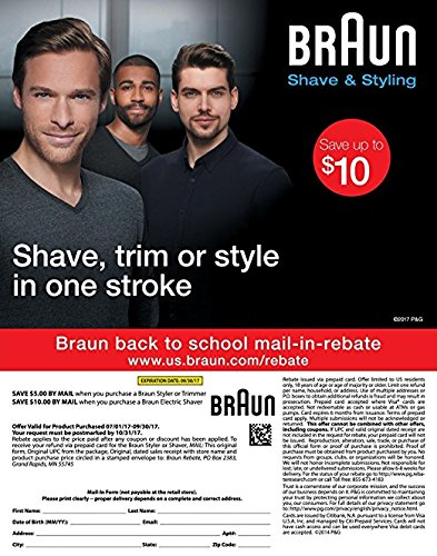 Máquina para Corte barber Braun Multi Grooming Kit MGK3020 6 em 1