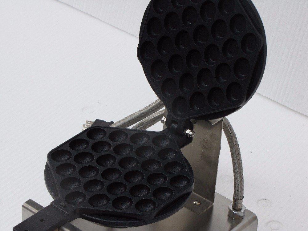 Maquina a gás de Waffle tipo Bolha Professional Aço inoxidável