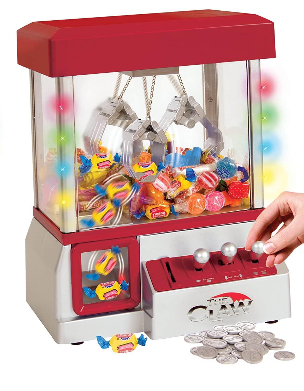 Mini Máquina De Pegar Bichinhos Ou Doce incluido 100 brinquedinhos