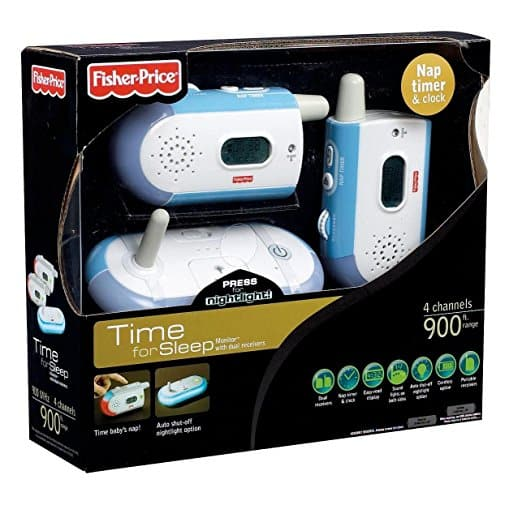 Babá Monitor single Fisher Price com receptores duplos