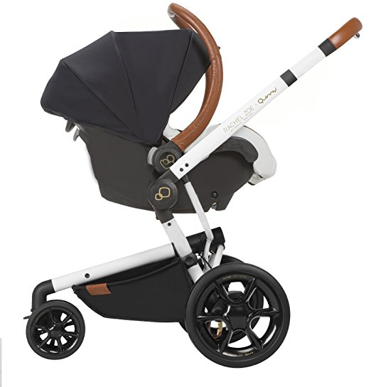 Quinny Rachel Zoe Jet Set Moodd Stroller Travel System with Rachel Zoe Diaper Bag 2