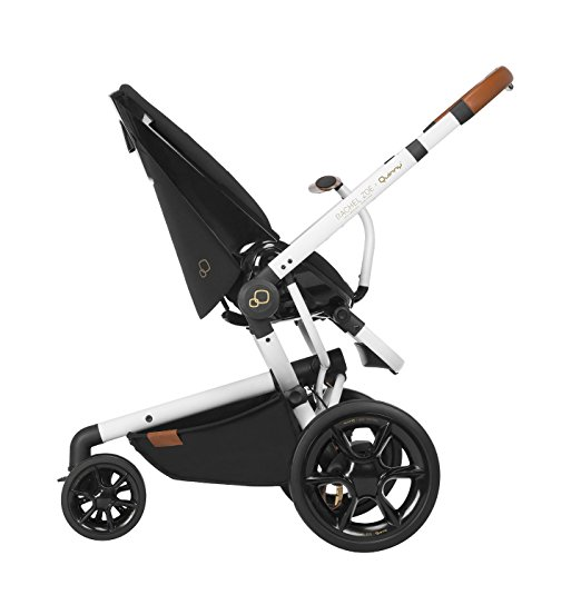 Quinny Rachel Zoe Jet Set Moodd Stroller Travel System with Rachel Zoe Diaper Bag 3