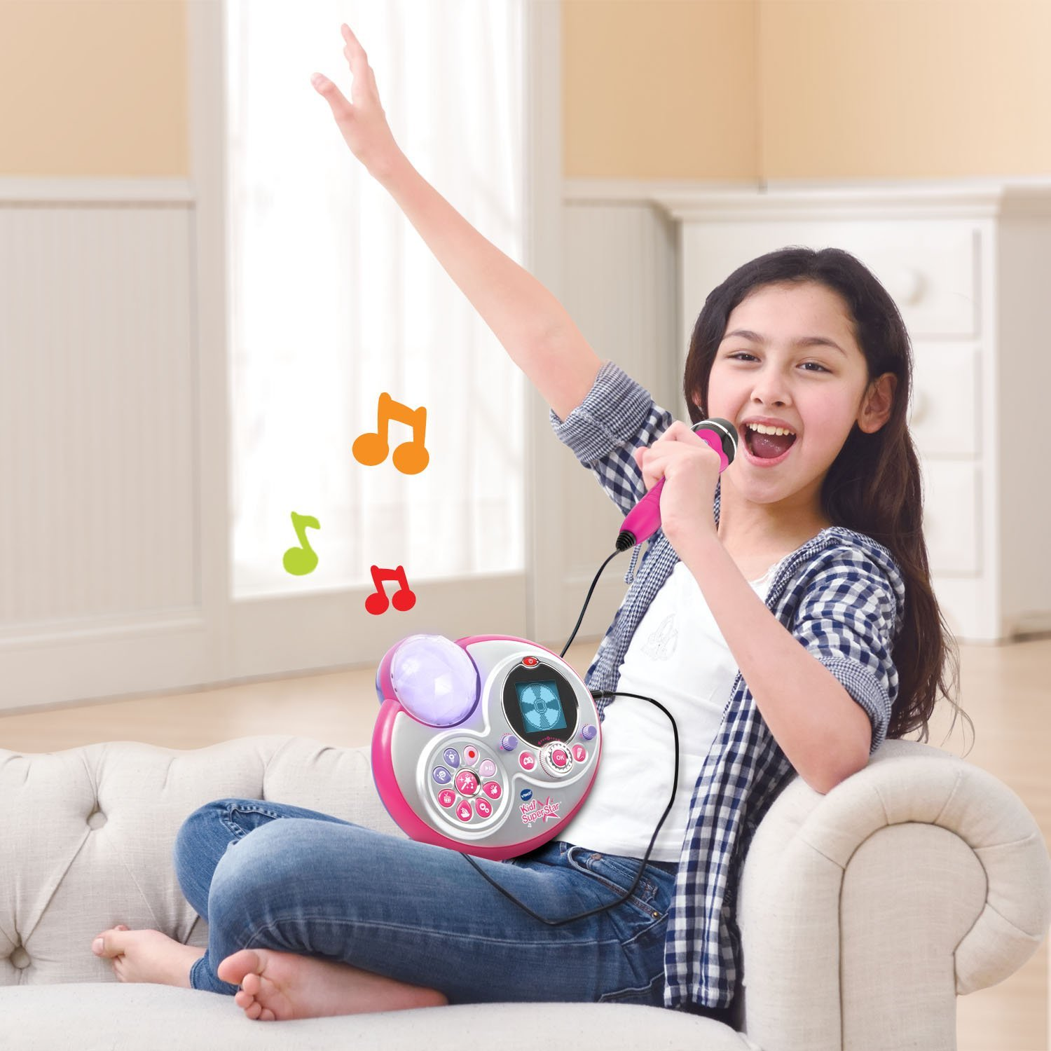 VTech Kidi Super Star Karaoke System with Microphone and Mic Stand – Online Exclusive6