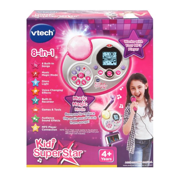 VTech Kidi Super Star Karaoke System with Microphone and Mic Stand – Online Exclusive7