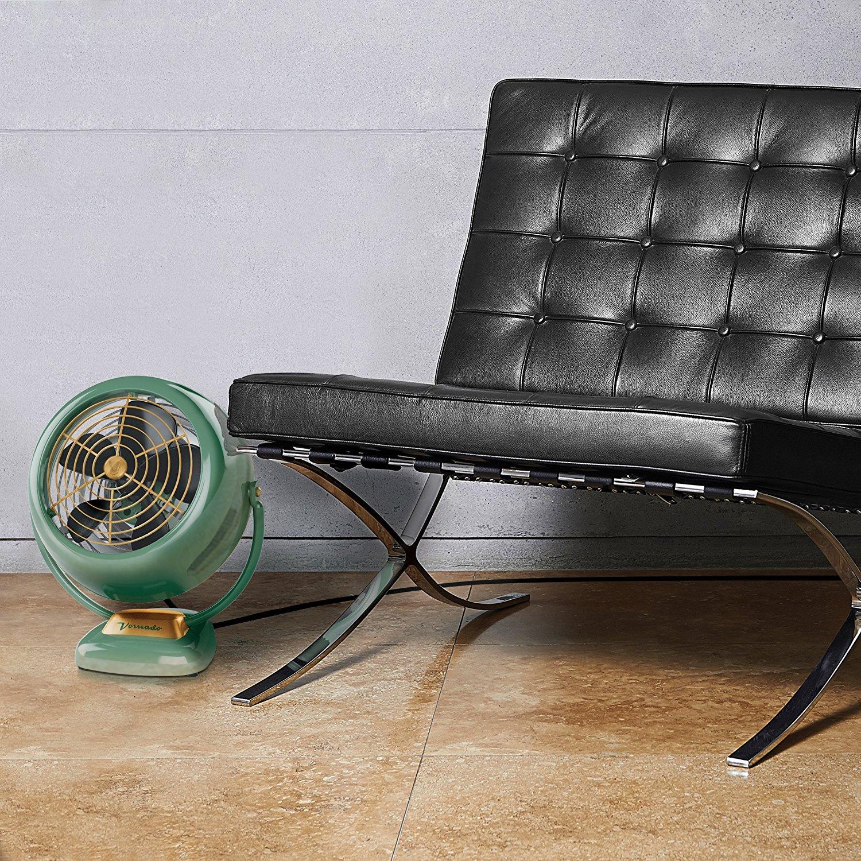 Ventilador Vornado VFAN Verde Retro Nostalgia Vintage Vornado Anos 60 70 CR1-0061-1755