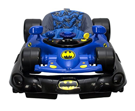 WB KidsEmbrace Baby Batman Activity Walker, Car with Music and Lights 6