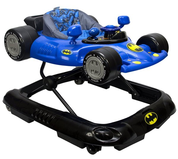 WB KidsEmbrace Baby Batman Activity Walker, Car with Music and Lights 8