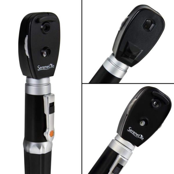 2-in-1 Ophthalmoscope & Otoscope Kit 3