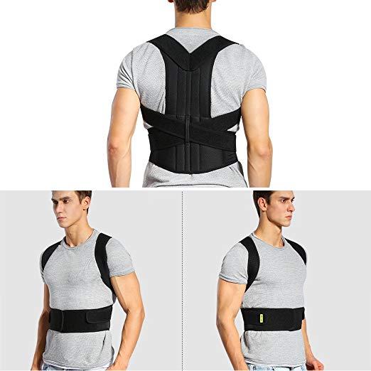Back Brace Posture Corrector Full Back Support Belts for Upper and Lower Back2