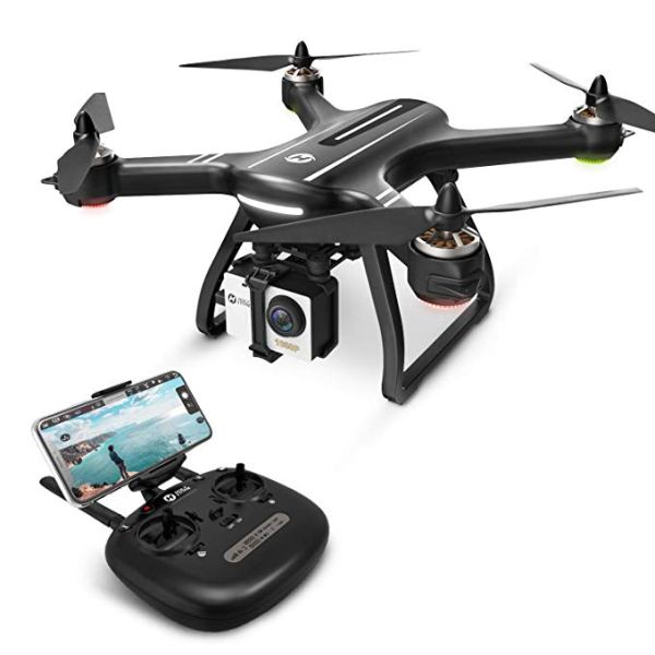 Holy Stone HS700 FPV Drone 1080p HD Camera Live Video GPS Return Home, RC Quadcopter