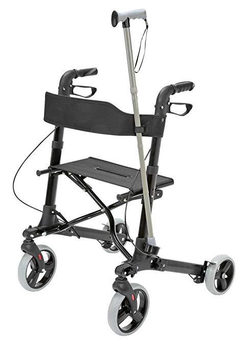 Medical Rollator Walker Euro Style, Compact Foldi4